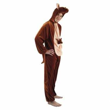 Carnavalskleding kangoeroe onesie dierenpak online 10078536