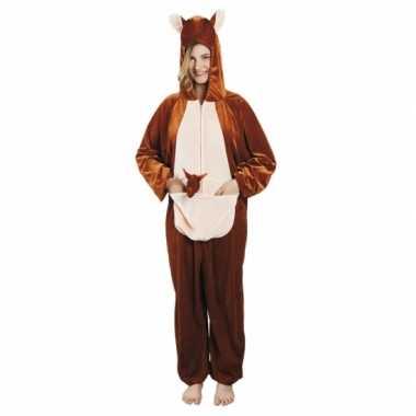 Carnavalskleding kangoeroe onesie dierenpak online