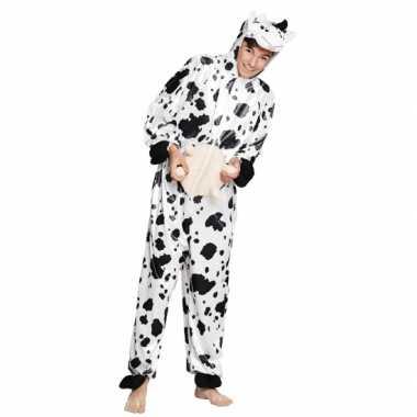 Carnavalskleding koe onesie dierenpak kind online