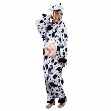 Carnavalskleding koe onesie dierenpak online
