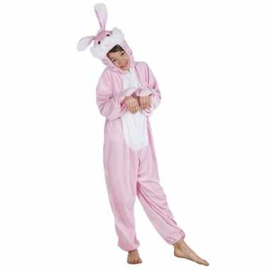 Carnavalskleding konijn onesie dierenpak kind online