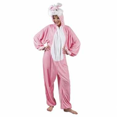 Carnavalskleding konijn onesie dierenpak online