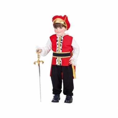Carnavalskleding koning baby online