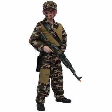 Carnavalskleding leger soldaten pak kind online