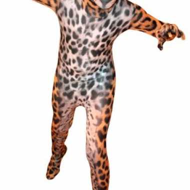 Carnavalskleding luipaarden morphsuit online