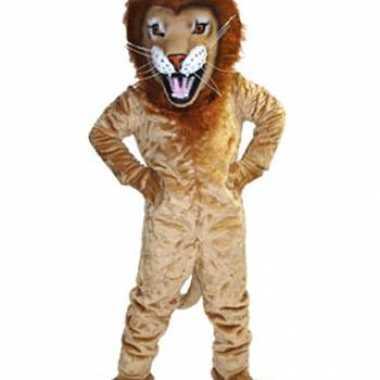 Carnavalskleding luxe mascotte leeuwen online