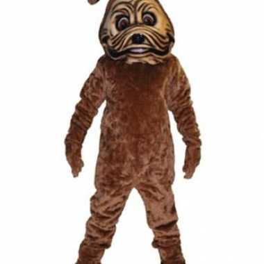 Carnavalskleding mascottes bulldog honden luxe online