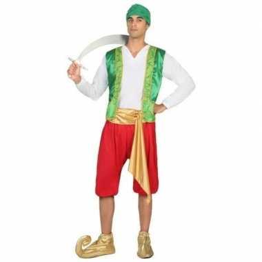 Carnavalskleding nacht arabische prins amir verkleedpak heren online