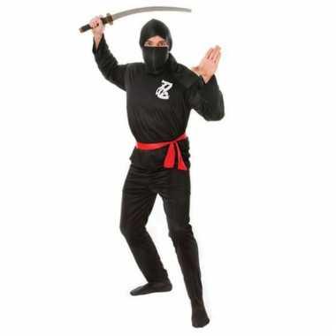 Carnavalskleding ninja pak heren online