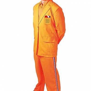 Carnavalskleding oranje bobo verkleedpak online