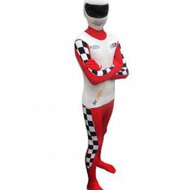 Carnavalskleding originele baby morphsuit racer online