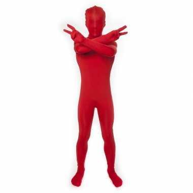 Carnavalskleding originele baby morphsuit rood online
