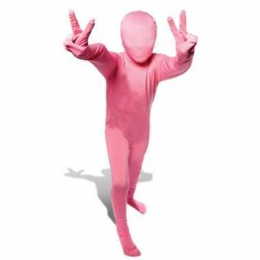 Carnavalskleding originele baby morphsuit roze online