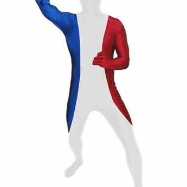 Carnavalskleding originele morphsuits franse vlag online
