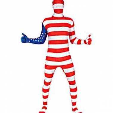 Carnavalskleding originele morphsuits usa vlag online