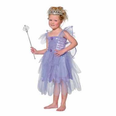 Carnavalskleding paars elfen jurkje meiden online