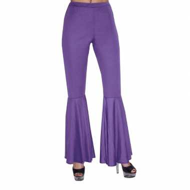 Carnavalskleding paarse hippie broek kids online