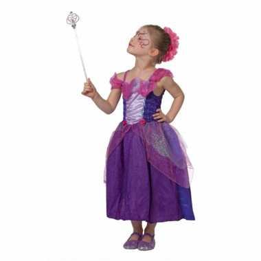 Carnavalskleding paarse sprookjes jurk meisjes online