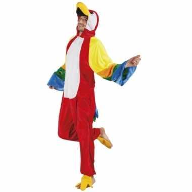 Carnavalskleding papegaai onesie dierenpak online 10078535
