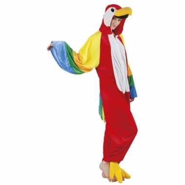 Carnavalskleding papegaai onesie dierenpak online