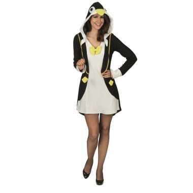 Carnavalskleding pinguin jurk dames online