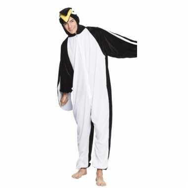 Carnavalskleding pinguin onesie kids online