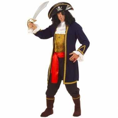 Carnavalskleding piraat heren luxe online