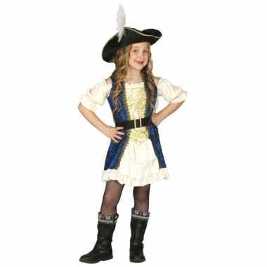 Carnavalskleding piraten kapitein jurk meisjes online