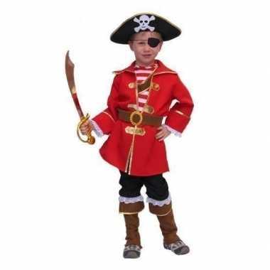 Carnavalskleding piratenpak kapitein jongens online