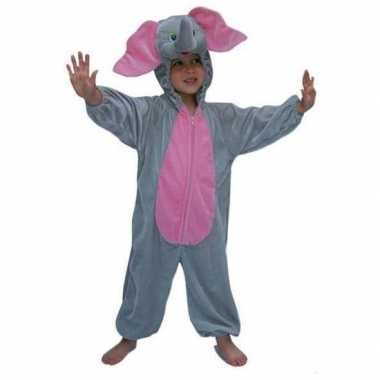 Carnavalskleding pluche dierenpak olifant kids online