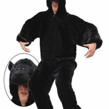 Carnavalskleding pluche gorilla pak online