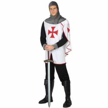 Carnavalskleding ridder kruistocht verkleed pak heren online