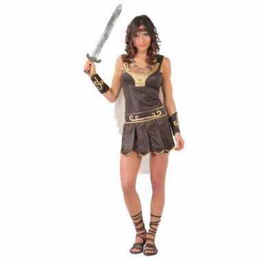 Carnavalskleding romeins gladiator jurkje dames online