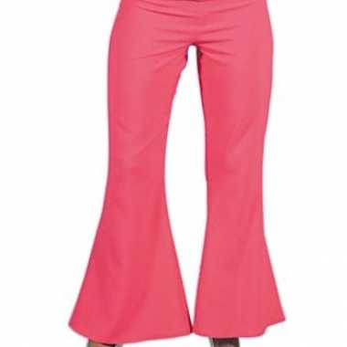 Carnavalskleding roze hippie dames broek online
