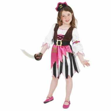 Carnavalskleding roze piraten meisjes online