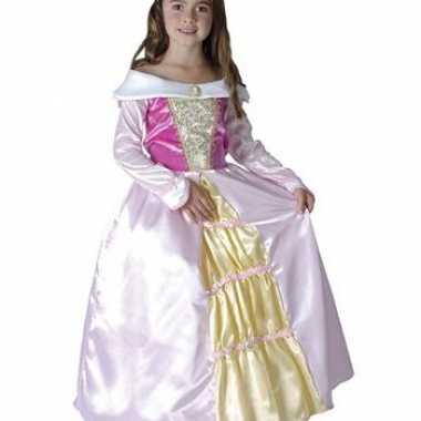 Carnavalskleding roze prinsessen jurk online