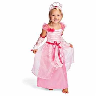 Carnavalskleding roze prinsessenjurk kids online