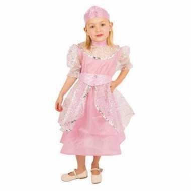 Carnavalskleding roze prinsessenjurk meisjes online