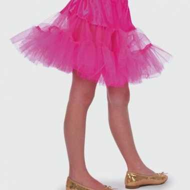 Carnavalskleding roze tule rokje meisjes online