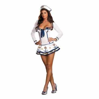 Carnavalskleding sexy sailor dames jurkje online