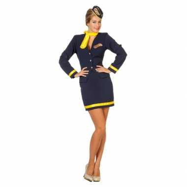 Carnavalskleding stewardess uniform dames online