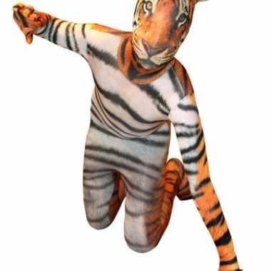 Carnavalskleding tijger morphsuit volwassenen online