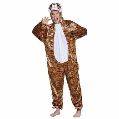 Carnavalskleding tijger onesie dierenpak kind online