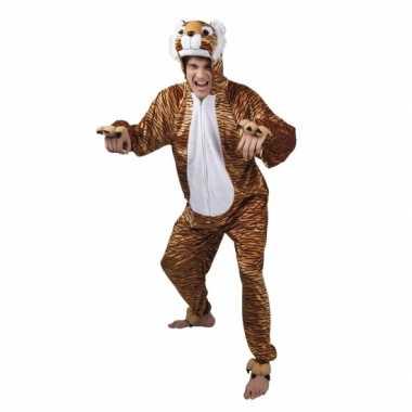 Carnavalskleding tijger onesie dierenpak online