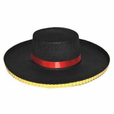 Carnavalskleding traditionele spaanse hoed carmen dames online