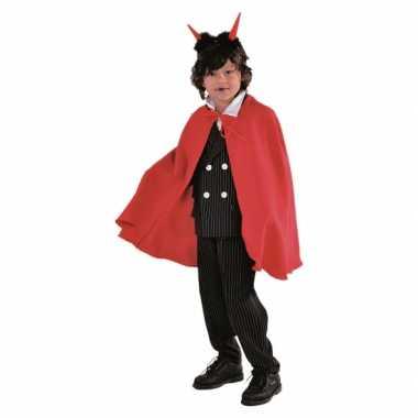 Carnavalskleding vampier cape baby rood online