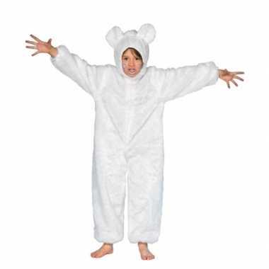 Carnavalskleding wit ijsberen pak baby online