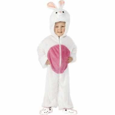 Carnavalskleding wit konijnenpak baby online 10107267