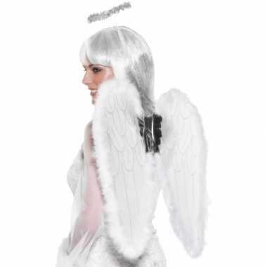 Carnavalskleding witte engelen vleugels online