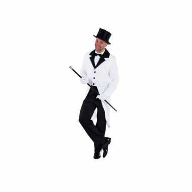Carnavalskleding witte presentator jas online